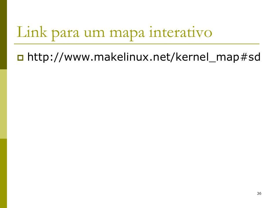 Link para um mapa interativo