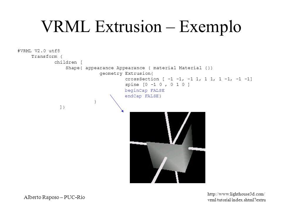 VRML Extrusion – Exemplo