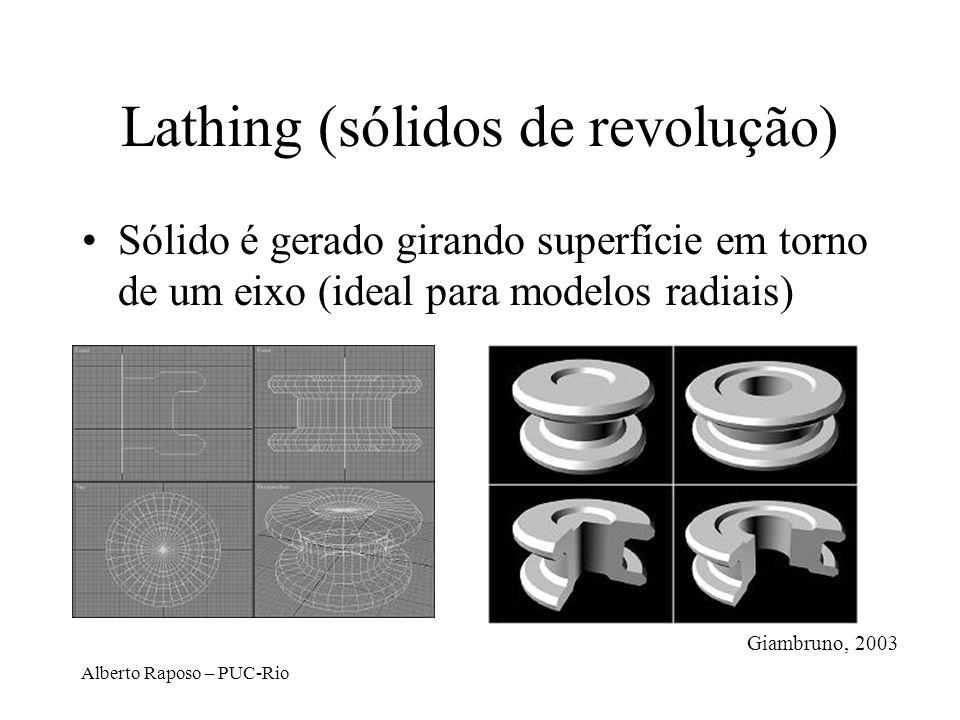 Lathing (sólidos de revolução)