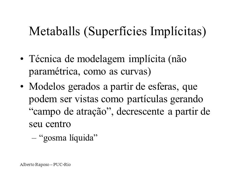 Metaballs (Superfícies Implícitas)