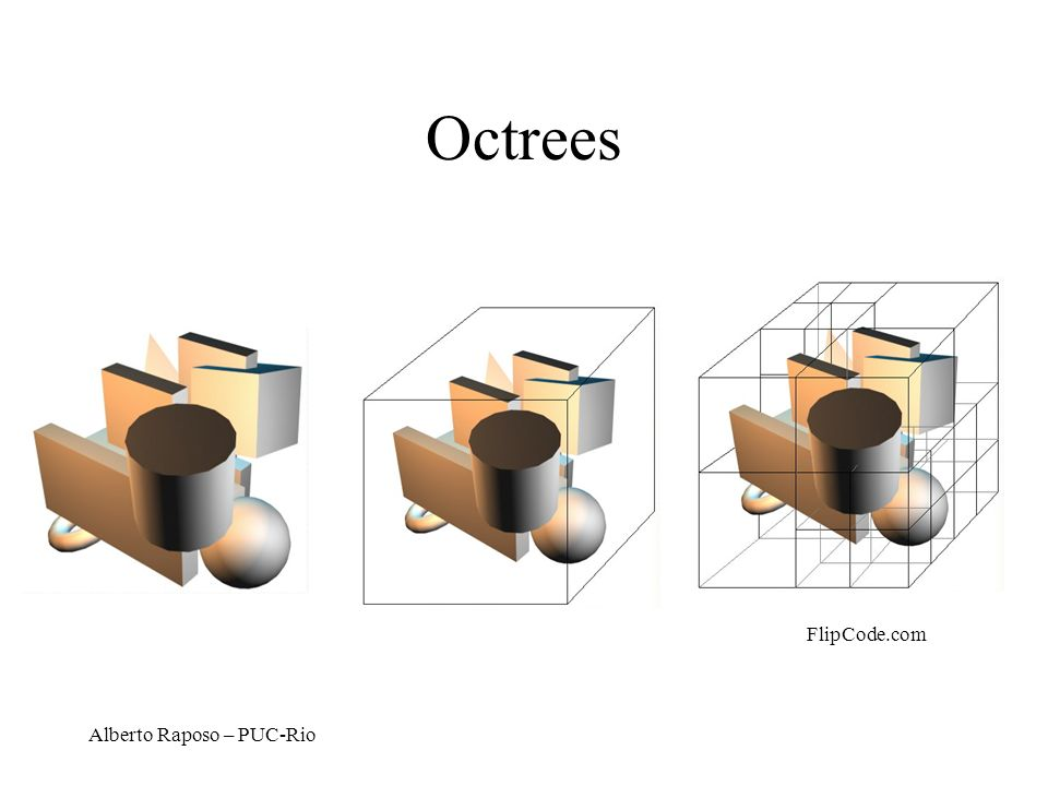 Octrees FlipCode.com Alberto Raposo – PUC-Rio
