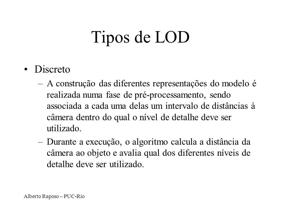 Tipos de LOD Discreto.