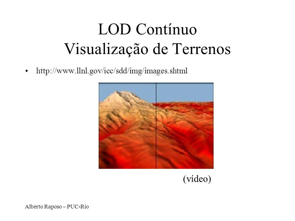 LOD Contínuo Visualização de Terrenos
