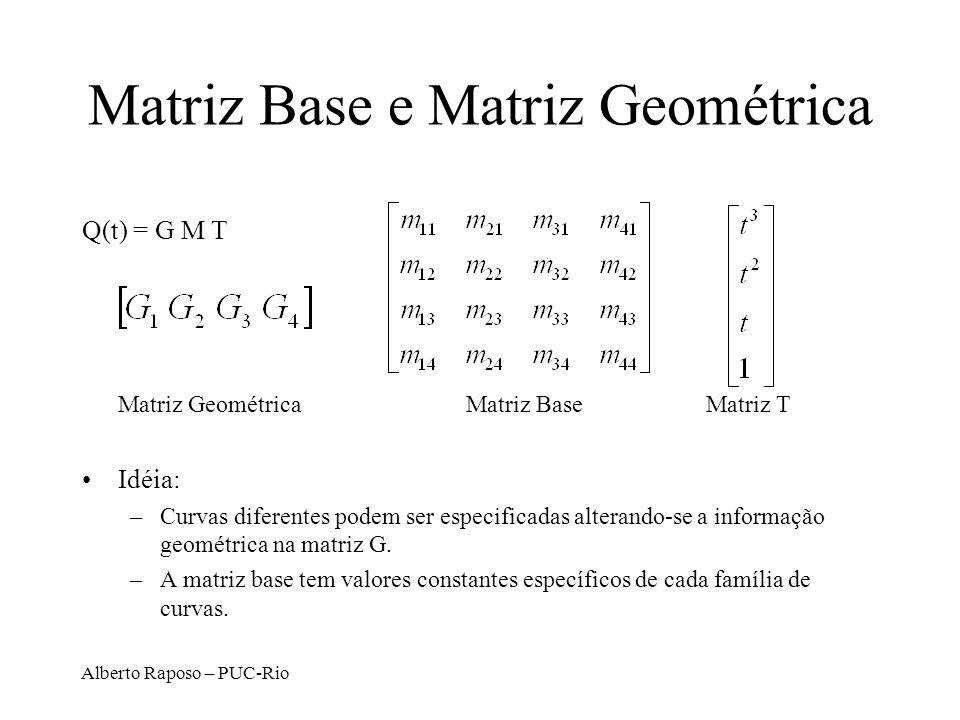Matriz Base e Matriz Geométrica