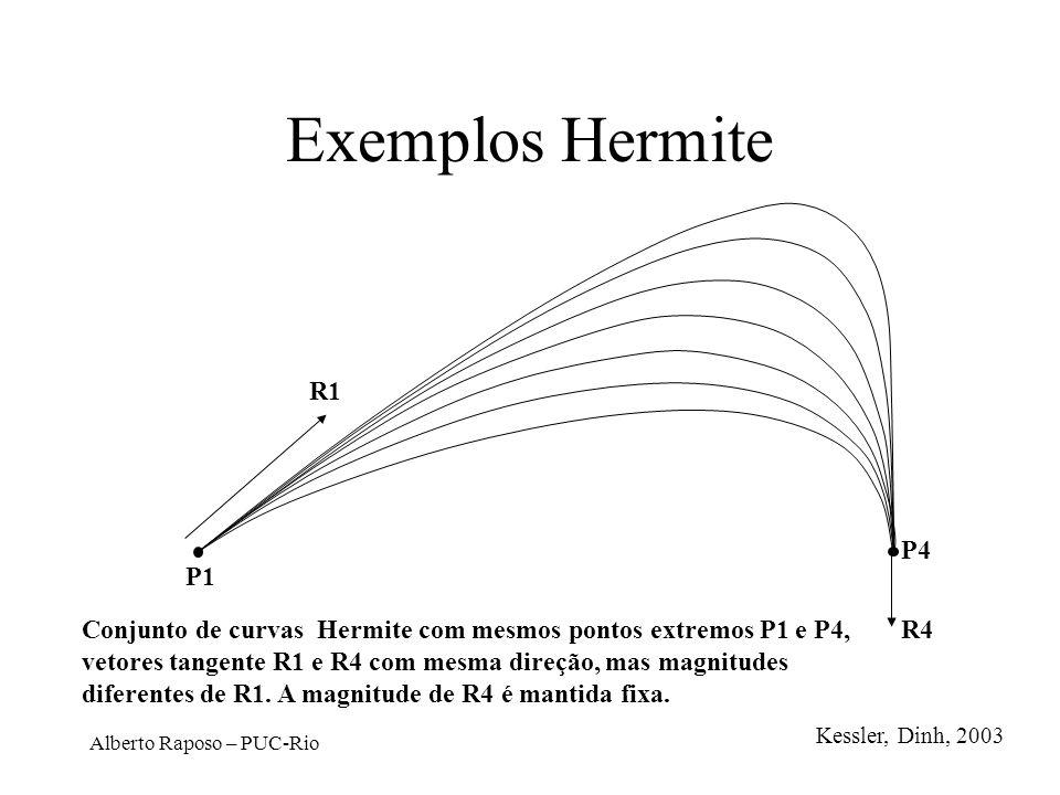 Exemplos Hermite R1. P4. P1.