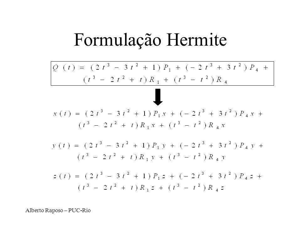 Formulação Hermite Alberto Raposo – PUC-Rio