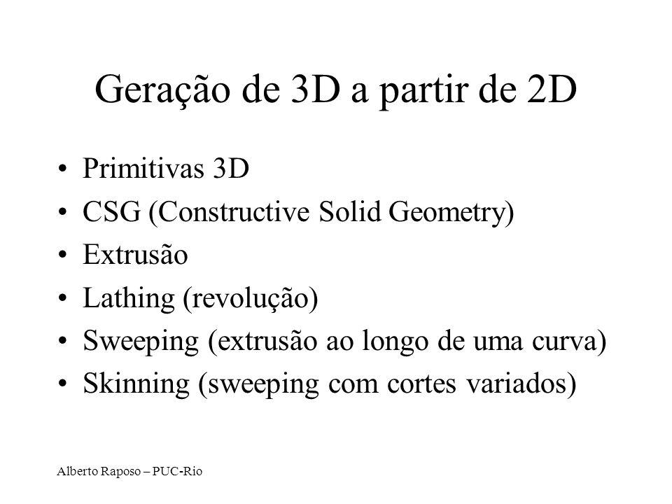 Geração de 3D a partir de 2D