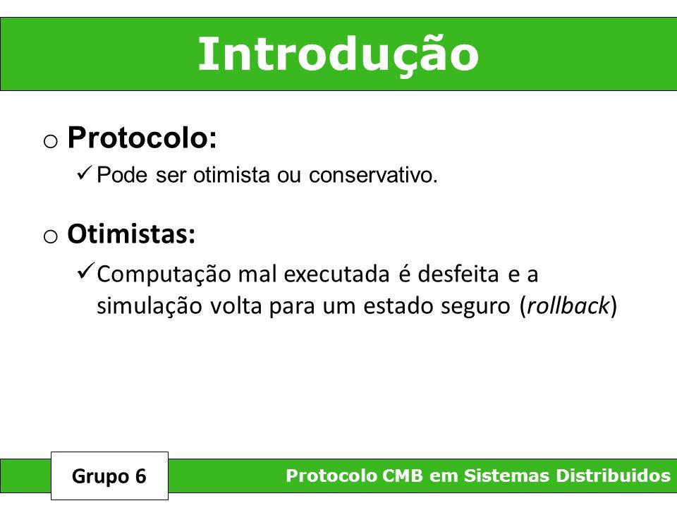Introdução Protocolo: Otimistas: