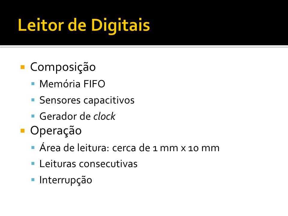 Leitor de Digitais Composição Operação Memória FIFO