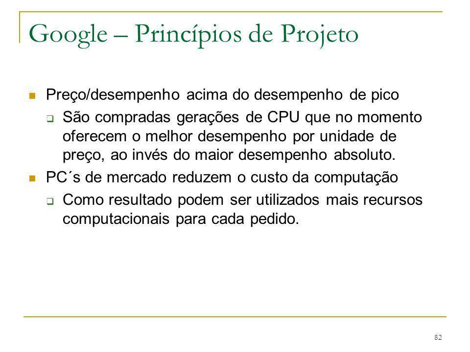 Google – Princípios de Projeto