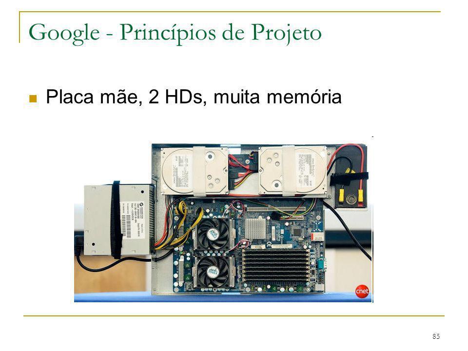 Google - Princípios de Projeto
