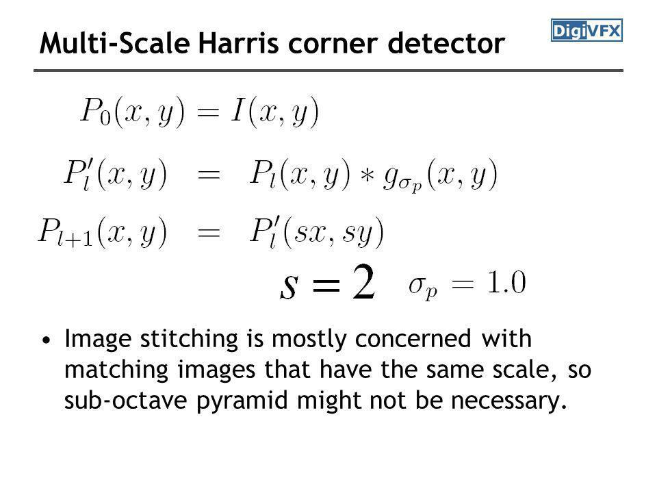 Multi-Scale Harris corner detector