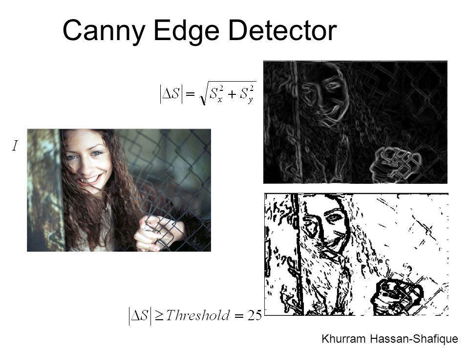 Canny Edge Detector Khurram Hassan-Shafique 50