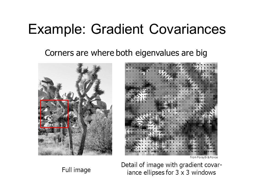 Example: Gradient Covariances