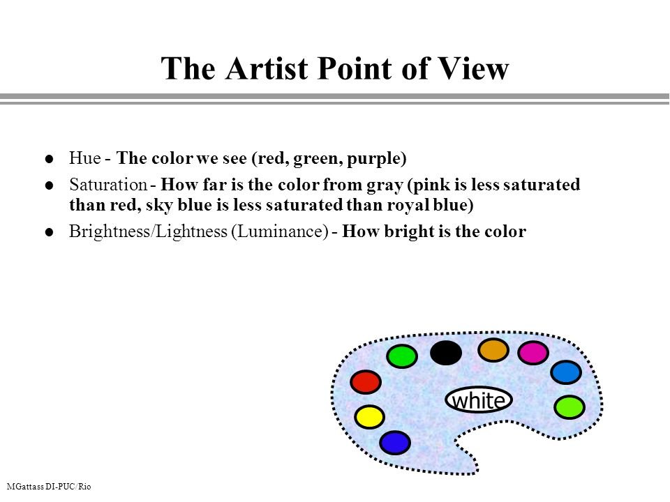 The Artist Point of View
