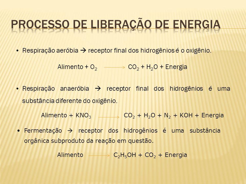 Processo de liberação de energia