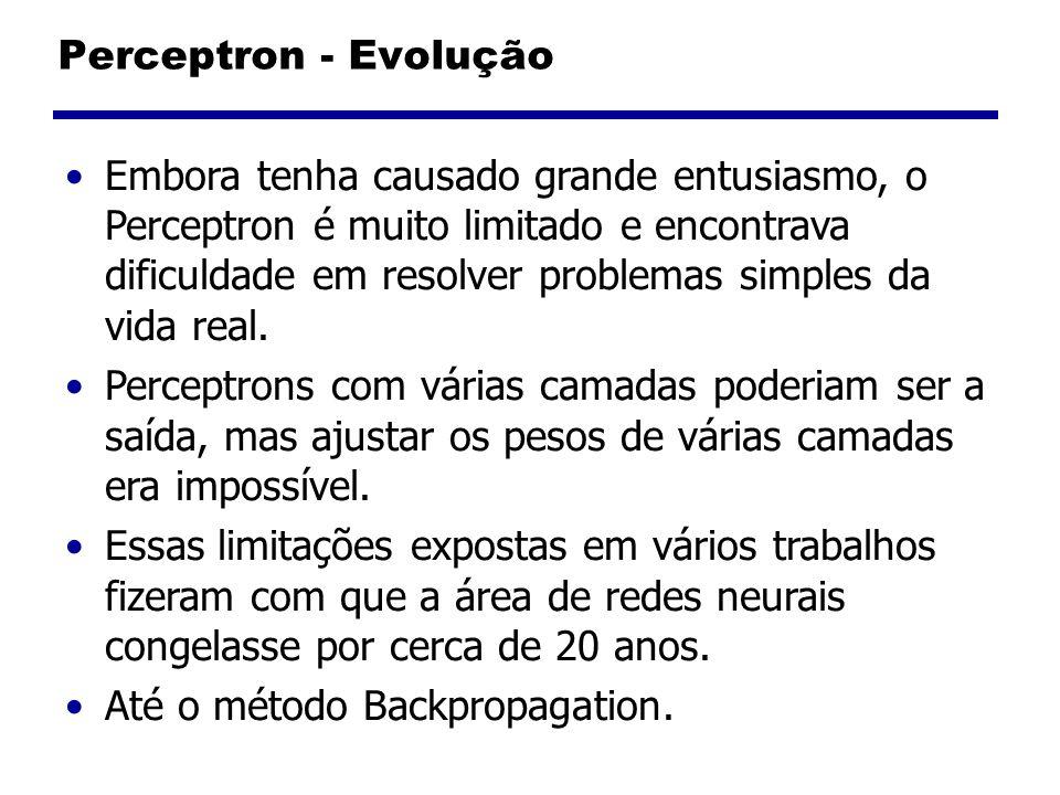 Perceptron - Evolução
