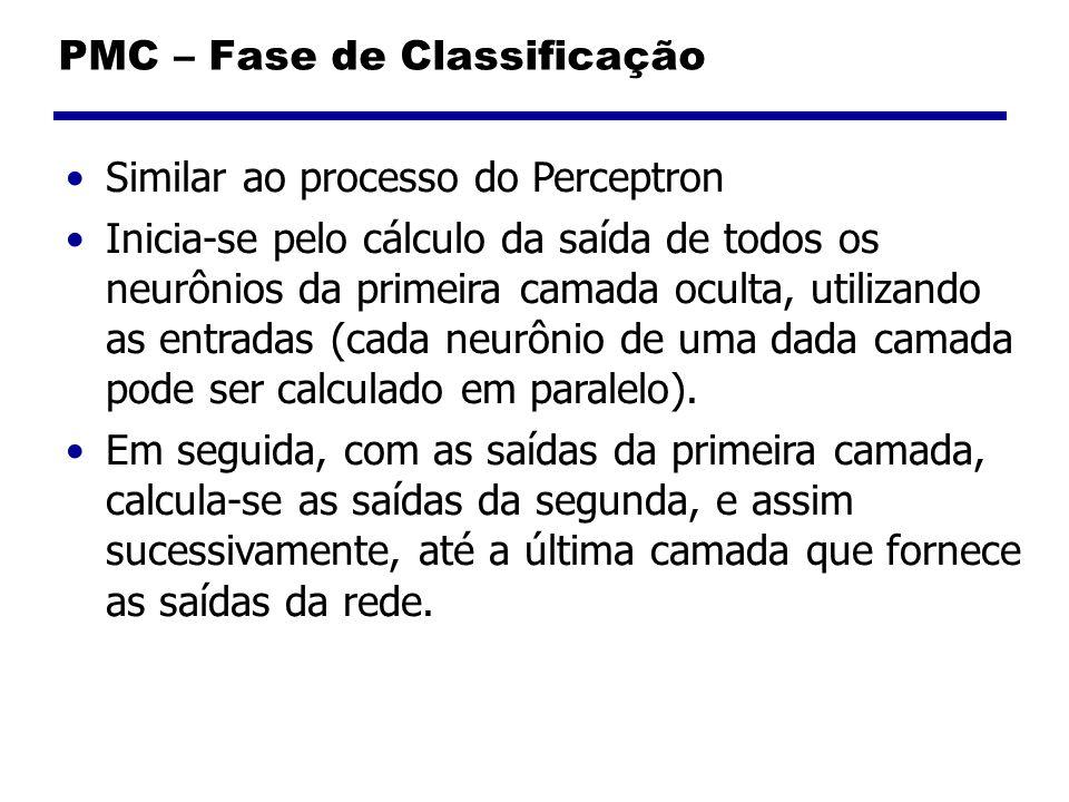PMC – Fase de Classificação