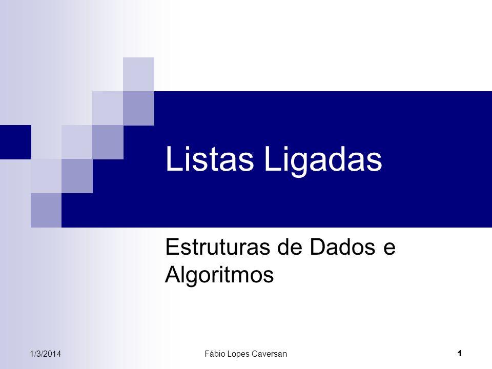 Estruturas de Dados e Algoritmos