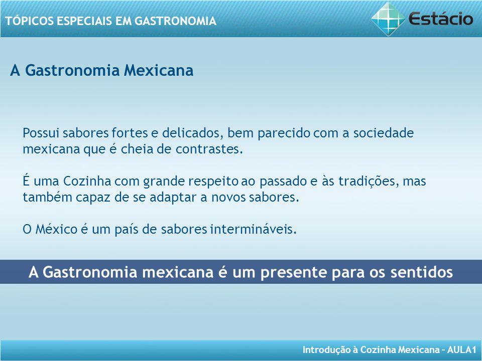 A Gastronomia mexicana é um presente para os sentidos
