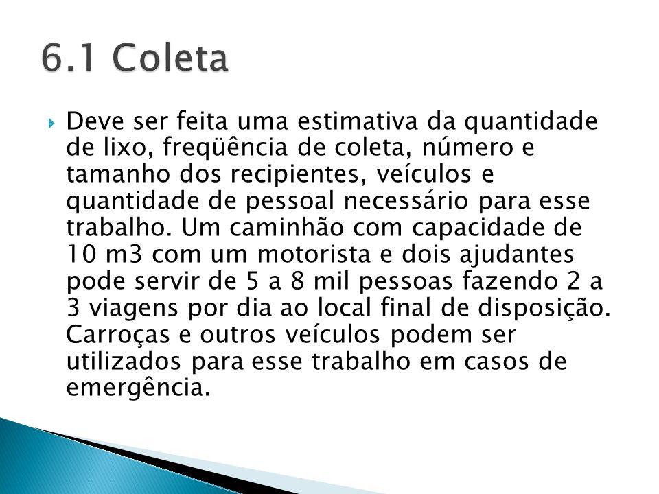 6.1 Coleta