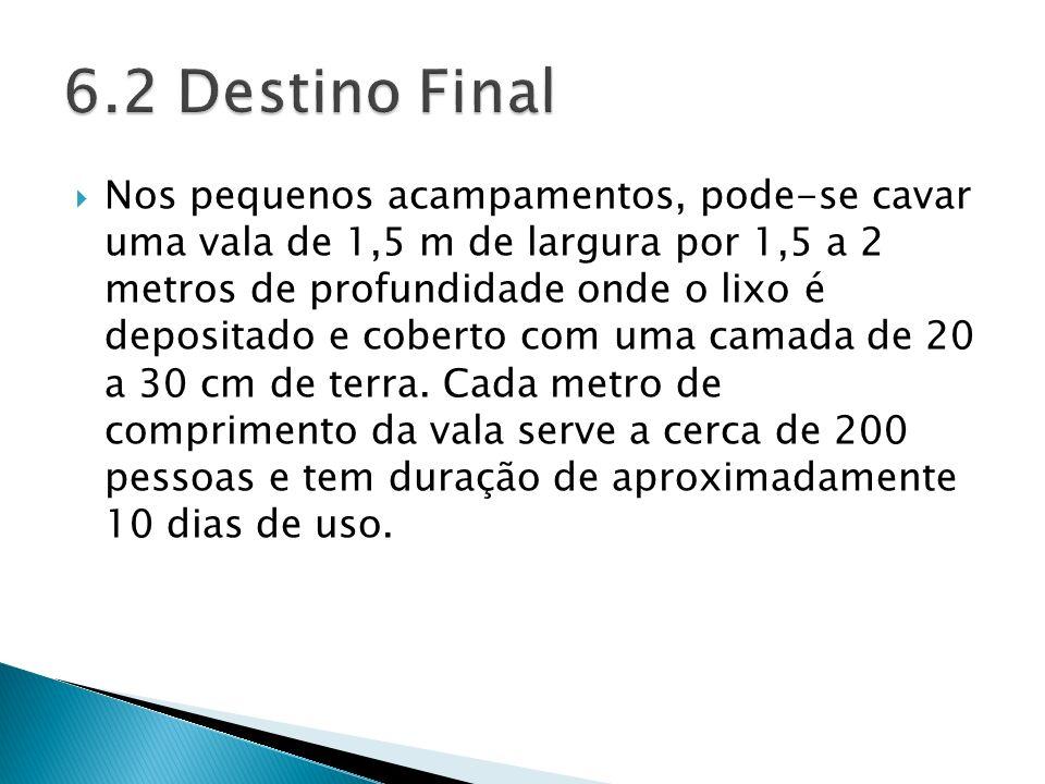 6.2 Destino Final