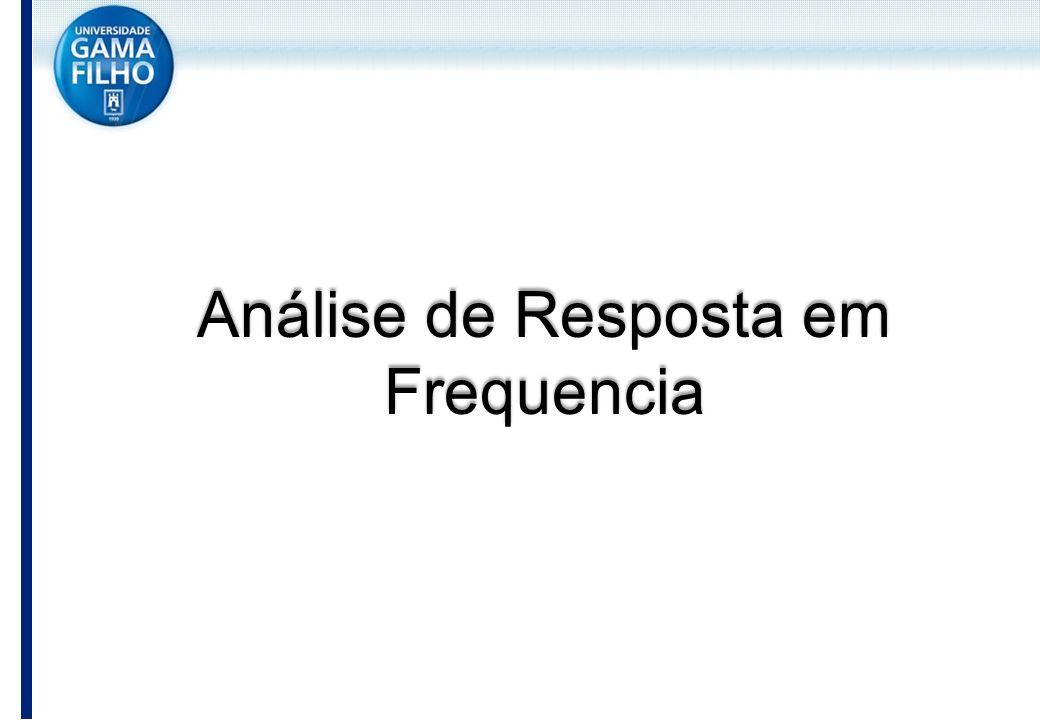 Análise de Resposta em Frequencia