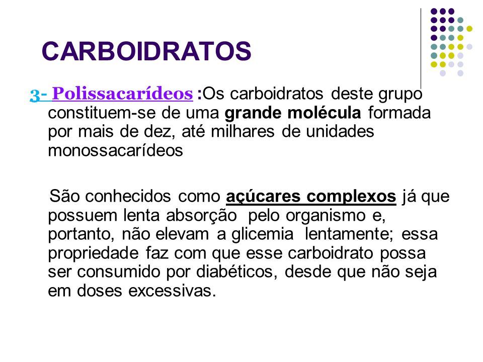 CARBOIDRATOS