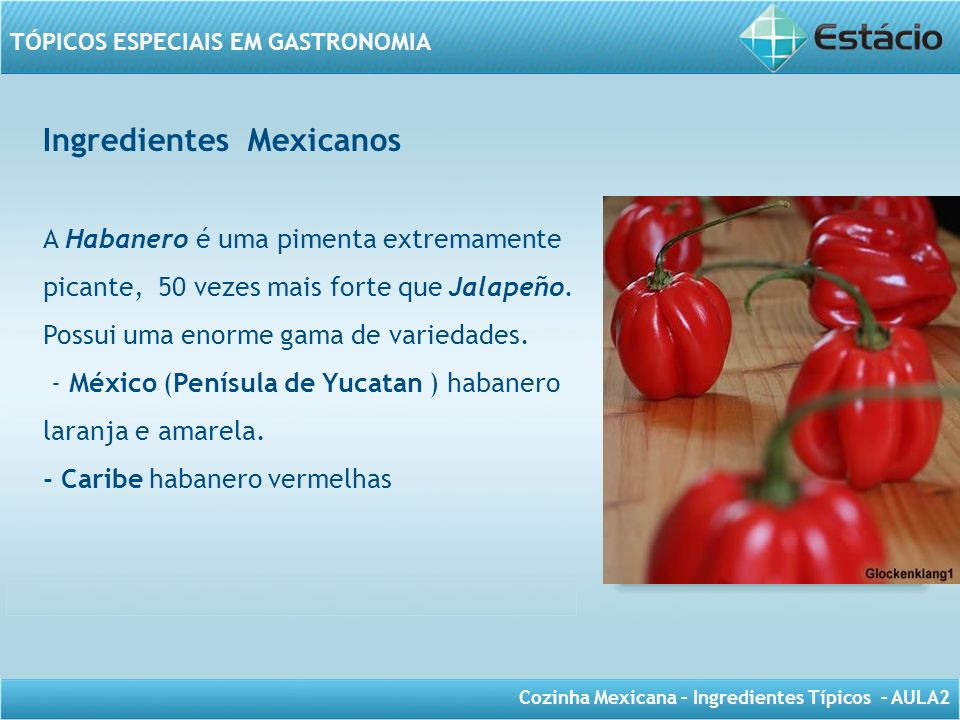Ingredientes Mexicanos