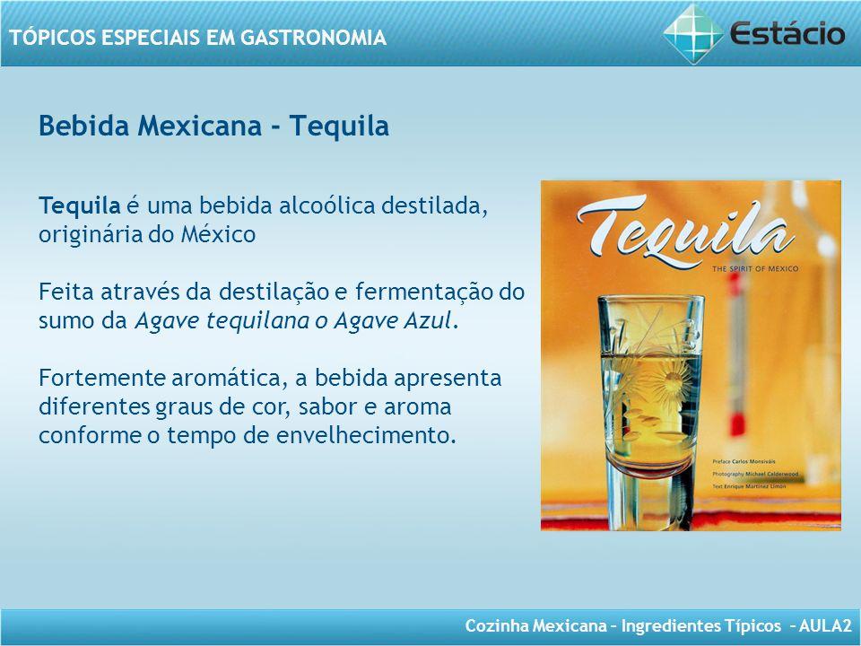 Bebida Mexicana - Tequila