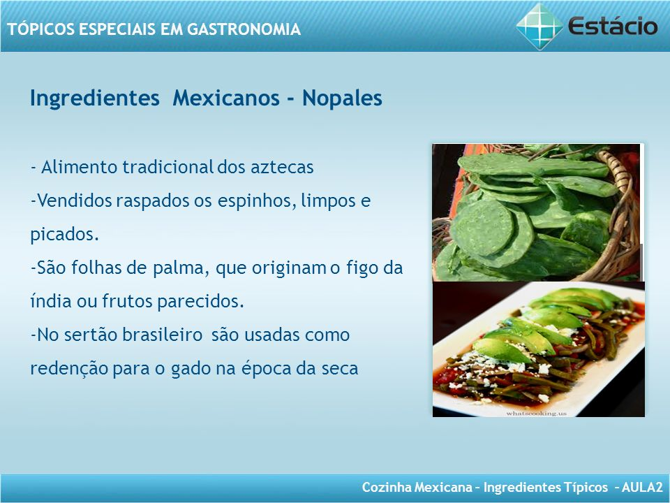 Ingredientes Mexicanos - Nopales