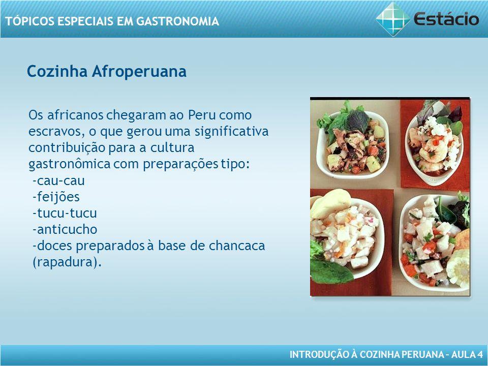 Cozinha Afroperuana