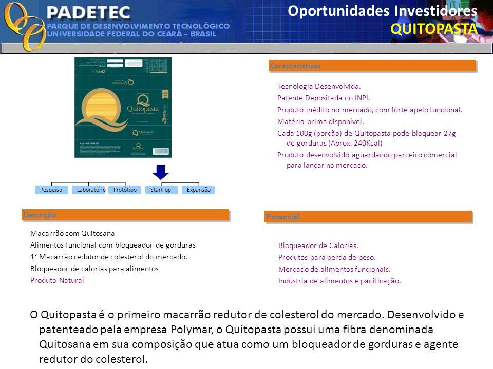 Oportunidades Investidores QUITOPASTA