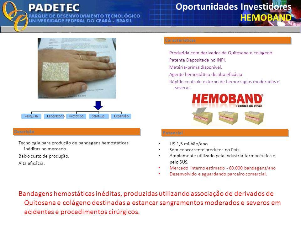 Oportunidades Investidores HEMOBAND