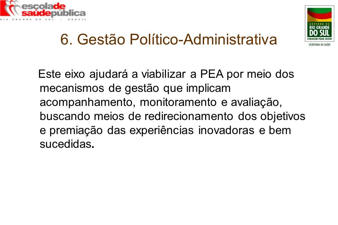 6. Gestão Político-Administrativa