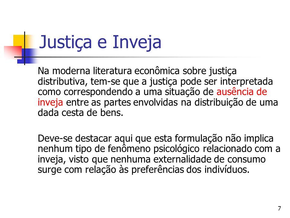 Justiça e Inveja