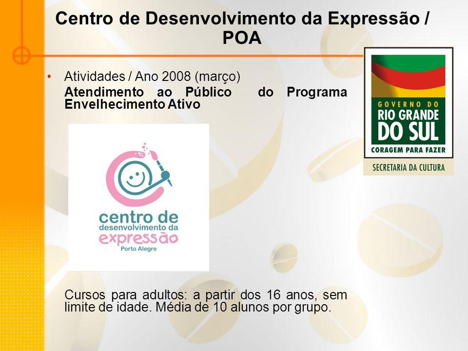 Centro de Desenvolvimento da Expressão / POA