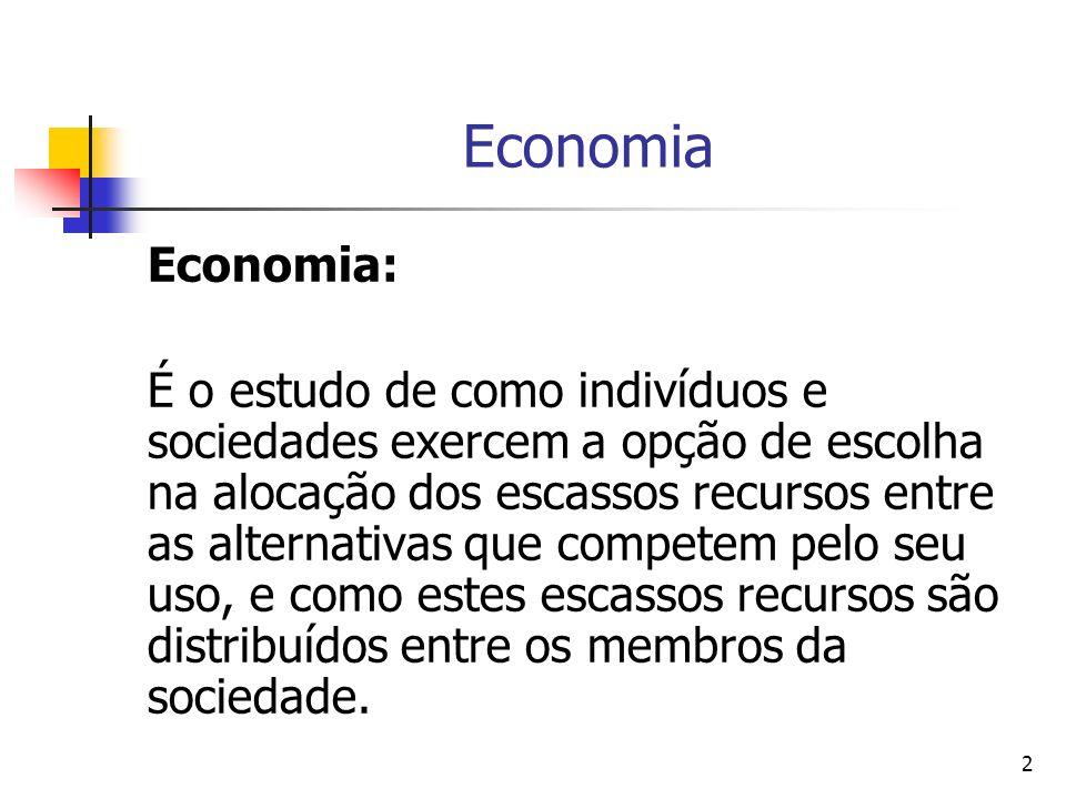 Economia Economia: