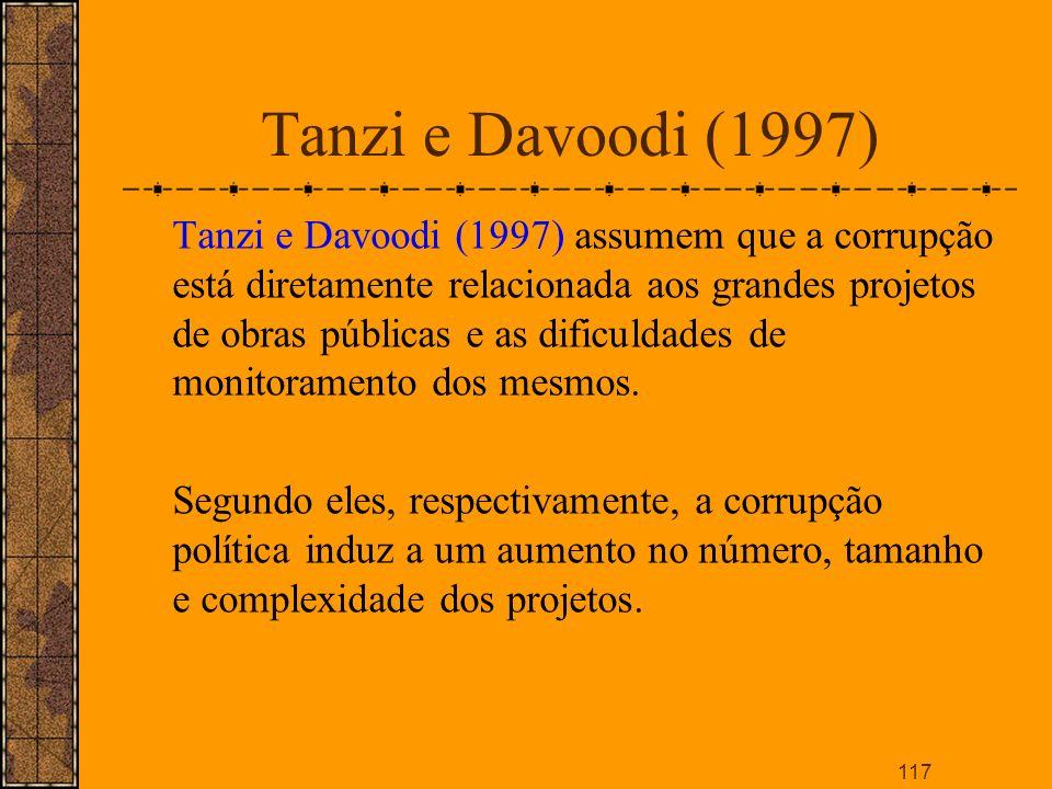 Tanzi e Davoodi (1997)