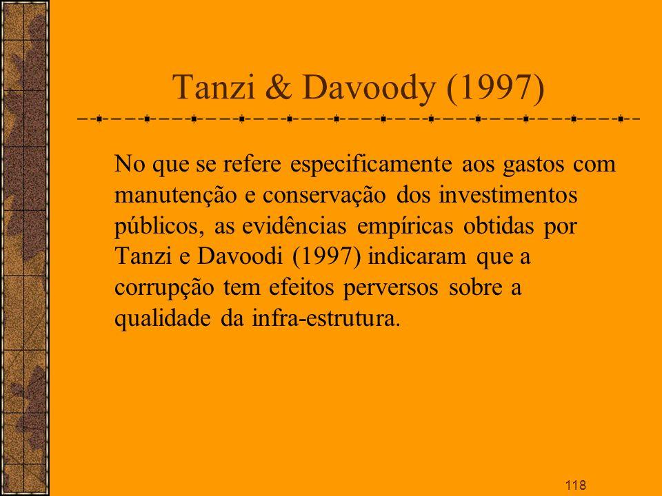 Tanzi & Davoody (1997)