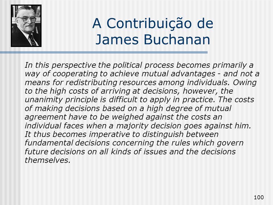 A Contribuição de James Buchanan