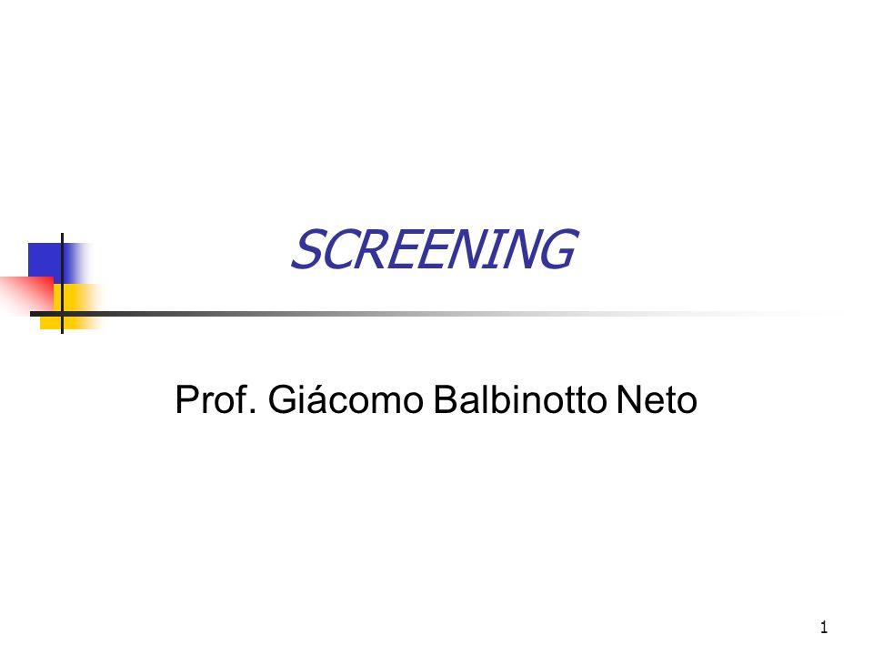 ECONOMIA DOS RECURSOS HUMANOS Prof. Giácomo Balbinotto Neto