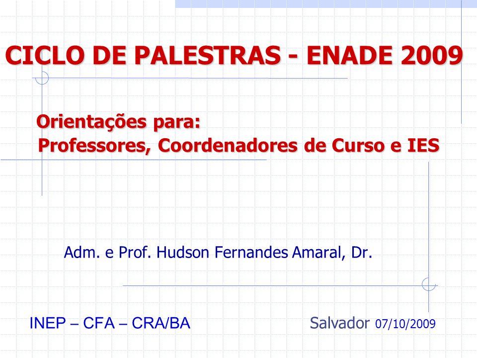Adm. e Prof. Hudson Fernandes Amaral, Dr.