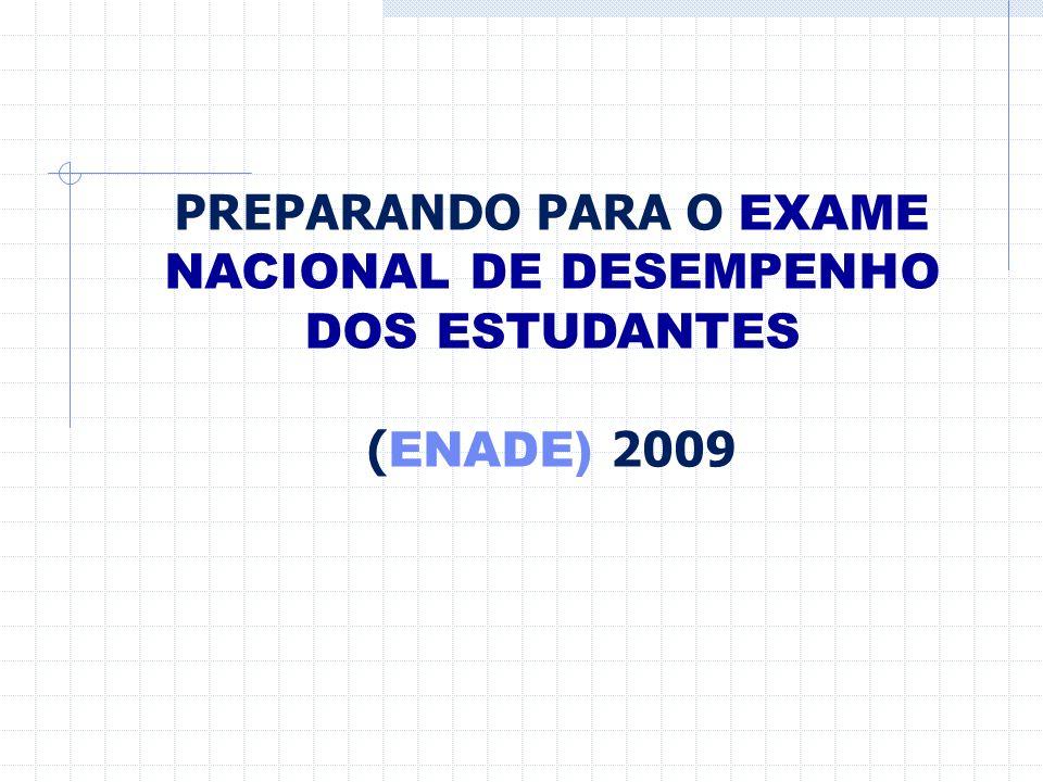 PREPARANDO PARA O EXAME NACIONAL DE DESEMPENHO