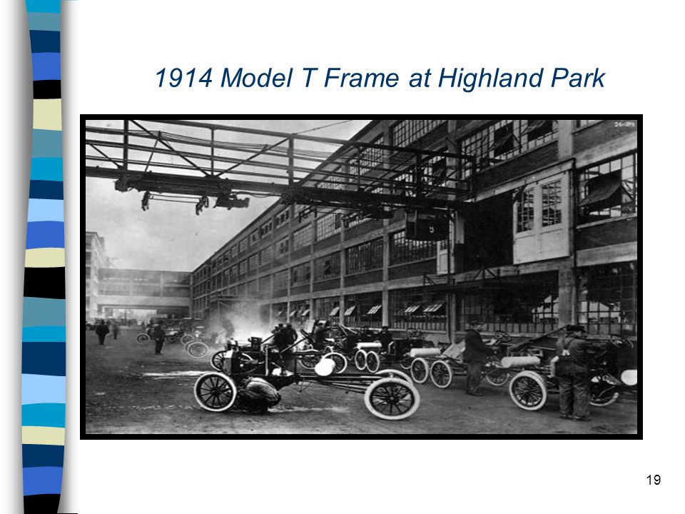 1914 Model T Frame at Highland Park