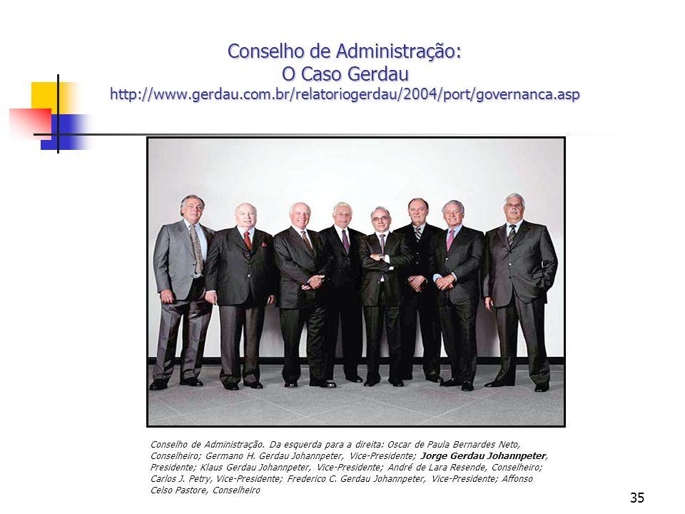 Conselho de Administração: O Caso Gerdau http://www. gerdau. com