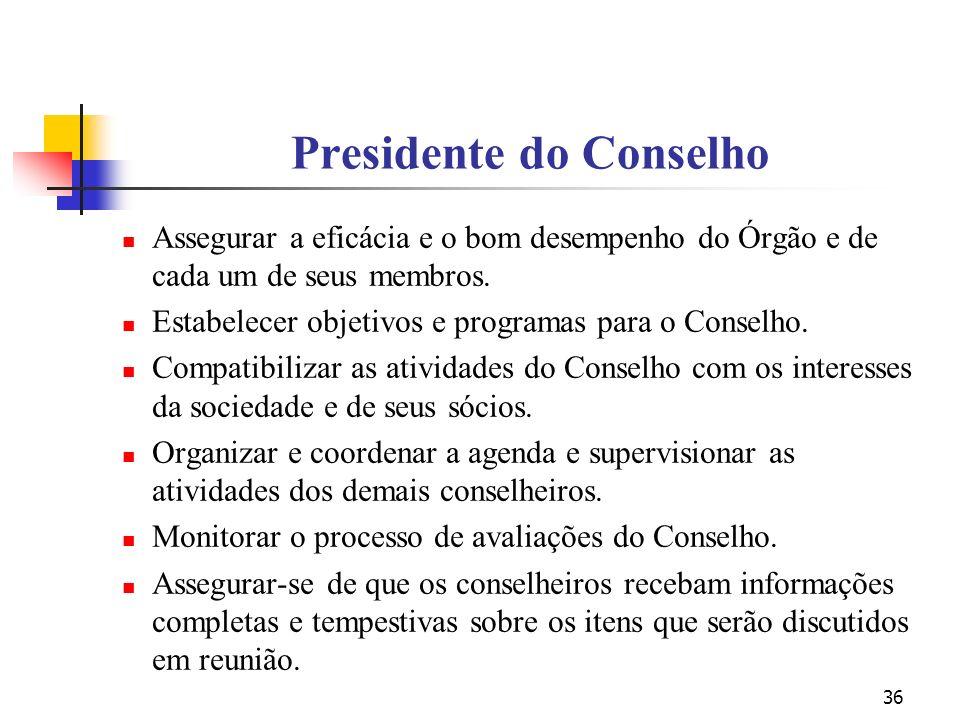 Presidente do Conselho