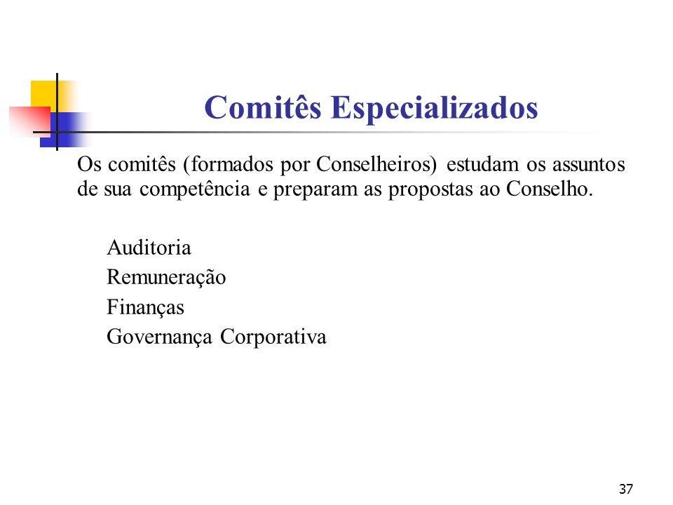 Comitês Especializados