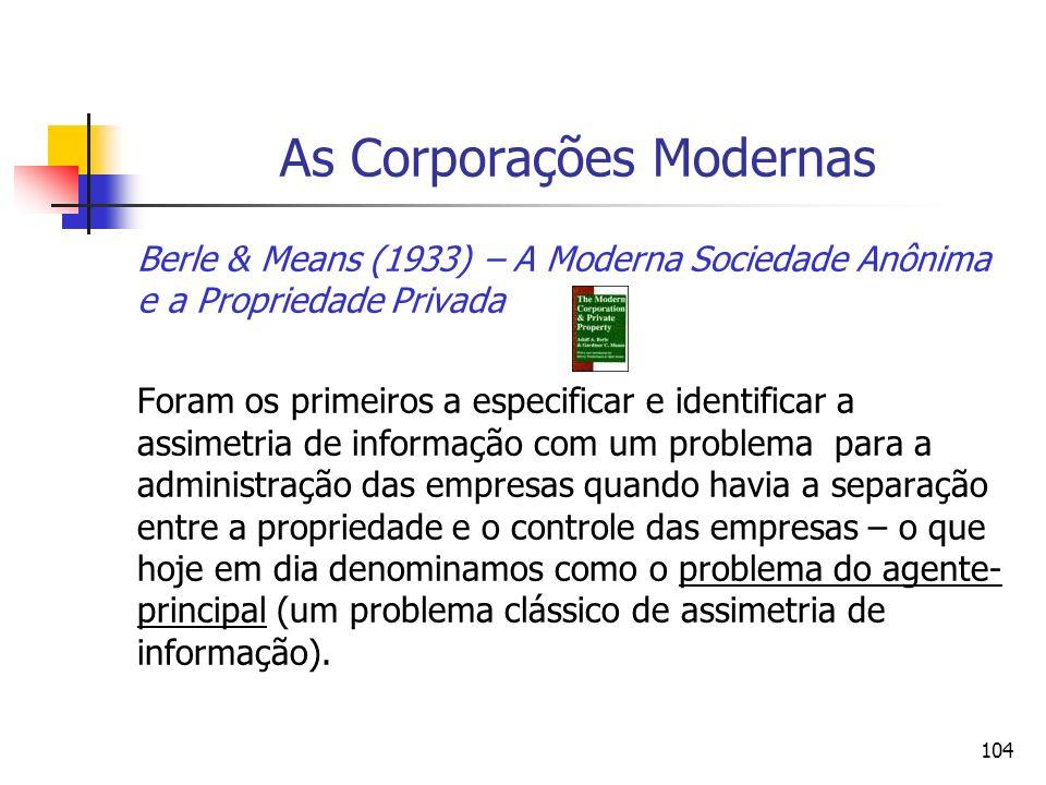 As Corporações Modernas