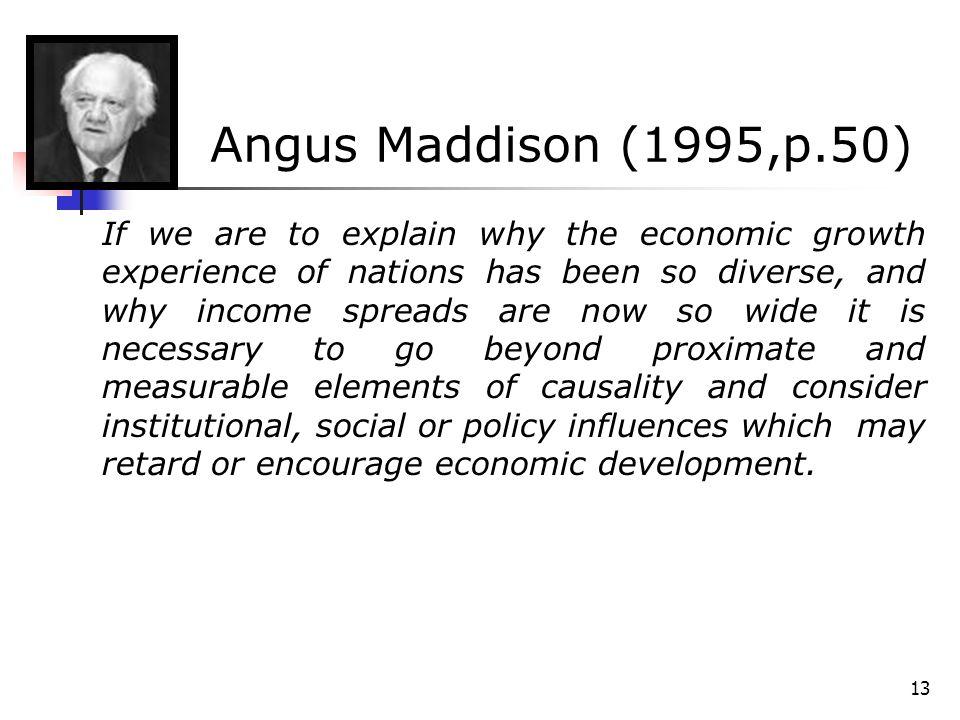 Angus Maddison (1995,p.50)